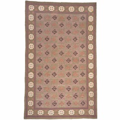 Early 20th Century Swedish Flat-Weave Carpet