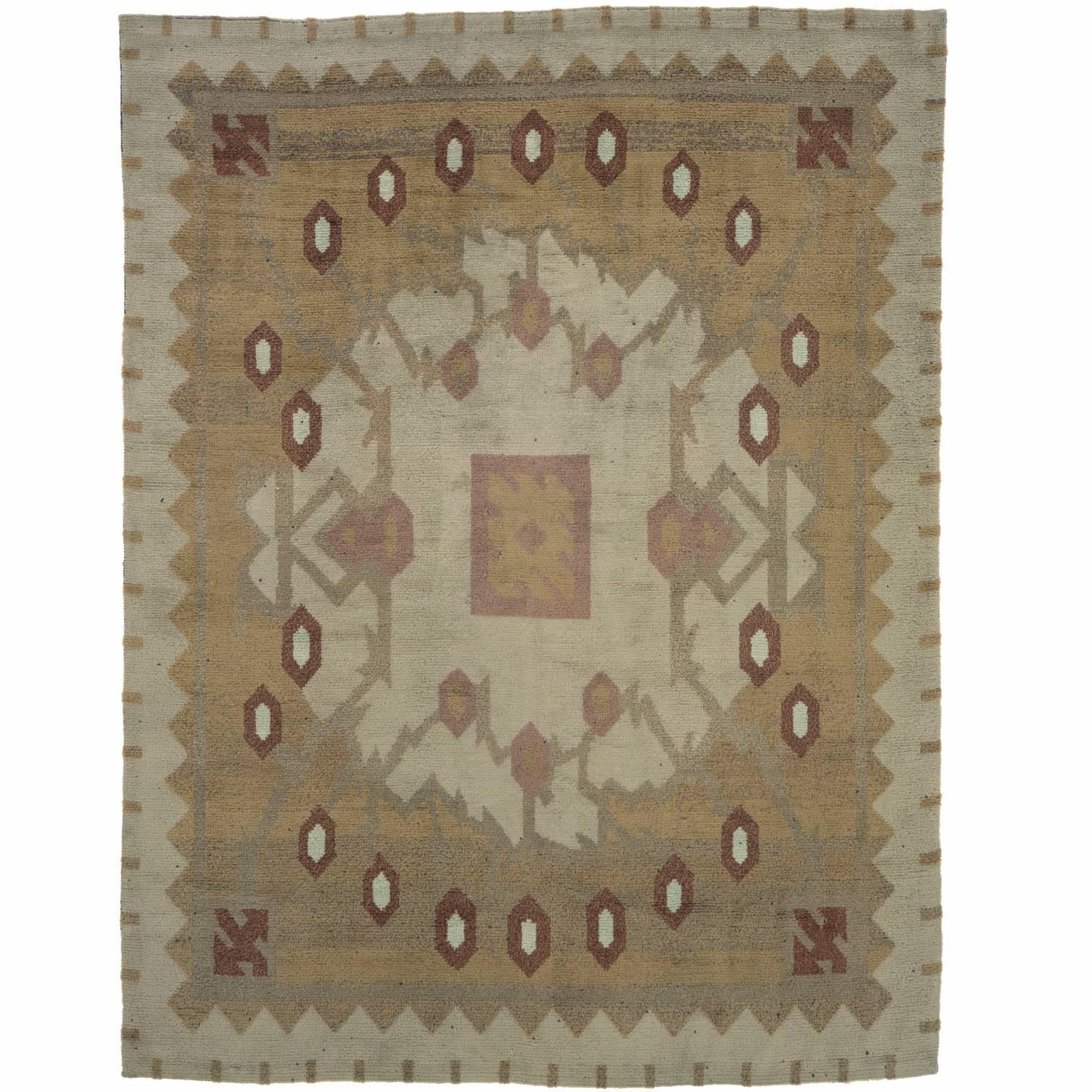 20th Century Swedish Pile-Weave Carpet by Eva Brummer