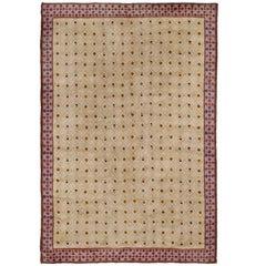 Mid 20th Century Swedish Pile-Weave Carpet by Konst Fluten