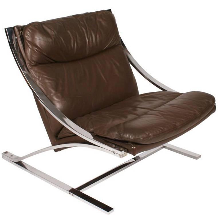 """Zeta"" Chair by Paul Tuttle for Strassle"