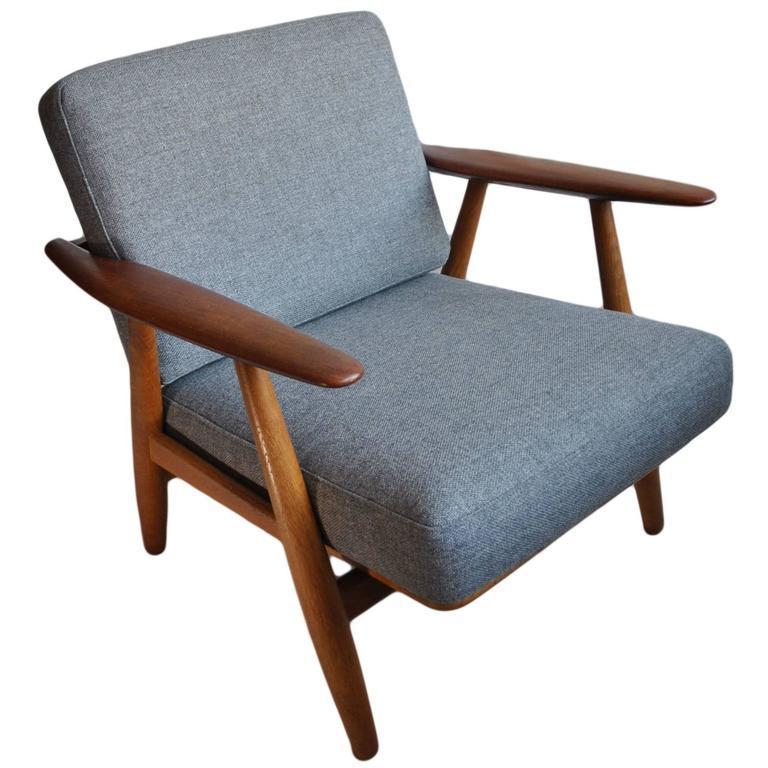 Original Hans J Wegner Ge240 Cigar Chair 1