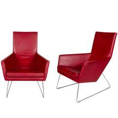 """Gerald Van Den Berg """"Don"""" Lounge Chair"""