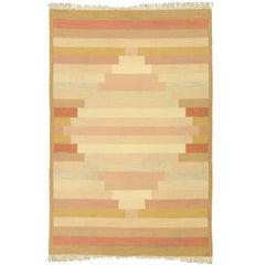 20th Century Swedish Flat-Weave Carpet by Anne Marie Boberg