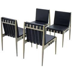 Set of Four Architect Chairs by Egon Eiermann SE 121, Germany, 1964