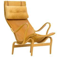 "Leather ""Pernilla"" Armchair by Bruno Mathsson"