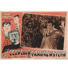 Abbott and Costello Meet Frankenstein / Il Cervello di Frankenstein