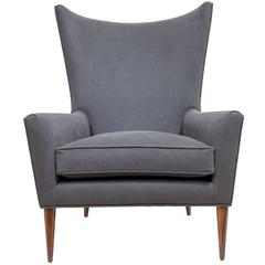 Morton Curved Back Wing Chair