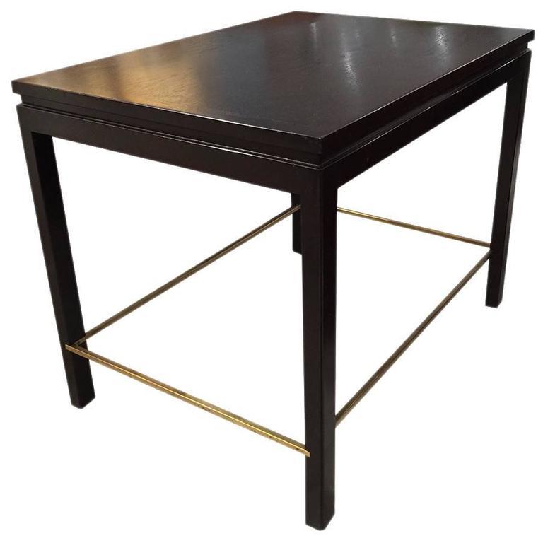 Ebonized End Table by Edward Wormley for Dunbar