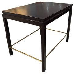Ebonized End Table by Edward Wormley for Dunbar