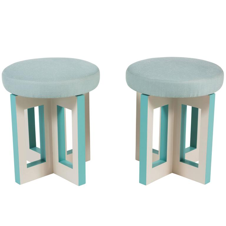 Portola Stool by Dragonette Private Label For Sale