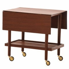 Danish Modern Provincial Serving Cart