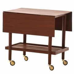 Danish Modern Provincial Serving Cart