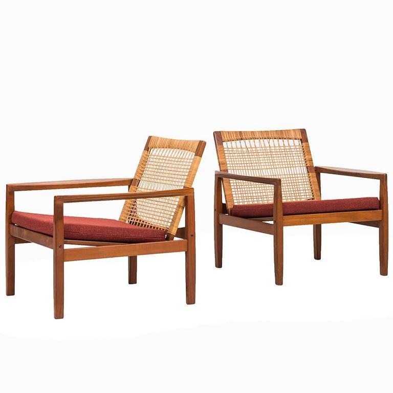 Hans Olsen Easy Chairs Model 519 by Juul Kristensen in Denmark