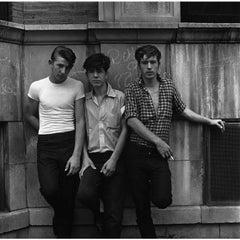 Danny Lyon Three Young Men 2009 Print