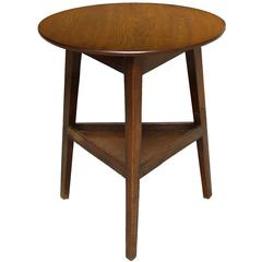 Arts and Crafts Period Cricket Table