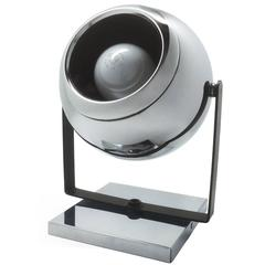 Chrome Eyeball Lamp on Bracket