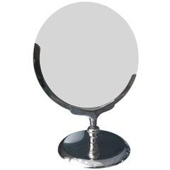 Vintage Vanity or Makeup Mirror with Pivoting Mechanism by Charles Hollis Jones