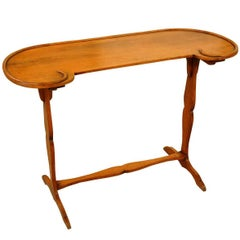 French 19th Century Kideny Shaped Writing Table