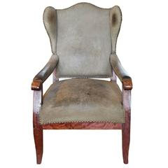 Bavarian Wingback Chair