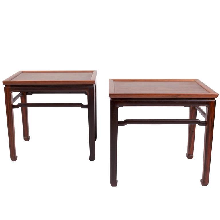 Pair of Jacob Kjær Side Tables