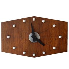 Large-Scale 1950s Wall Clock