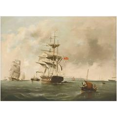 Pair of Marine Paintings