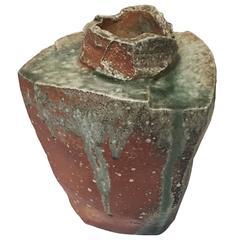 Contemporary Japanese Ceramic Vase by Fujioka Shuhei