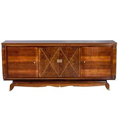 French Art Deco Sideboard Attributed to Jules Leleu