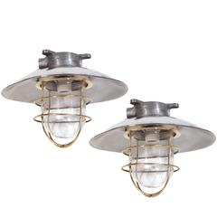 Nautical Steel Ceiling Fixture