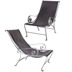 Pair of Salterini Style Lounge Chairs