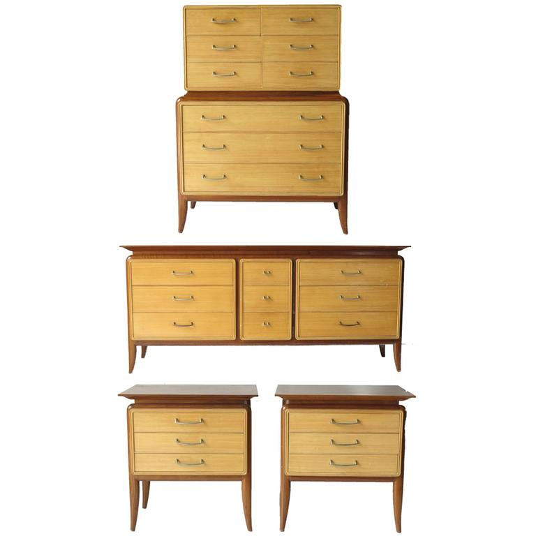 this mid century bedroom set five pieces is no longer available