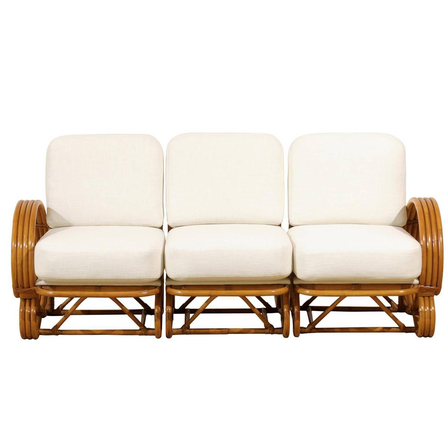 Stellar Restored Vintage Curvilinear Rattan Sofa at 1stdibs : abp042220160534444Customorgz from www.1stdibs.com size 1454 x 1454 jpeg 77kB