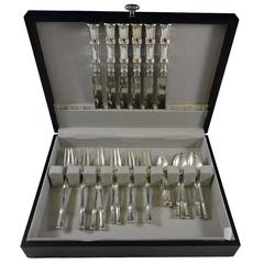 Bamboo by Tiffany Sterling Silver Dinner Flatware Set for Six Service 30 Pieces