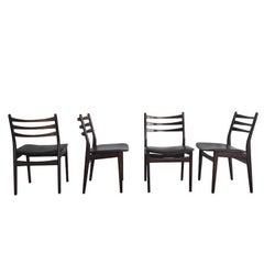 Set of Four Dining Chairs Manufactured by Topform, 1950s