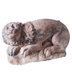 Lion, Sculpture 17th-18th Century