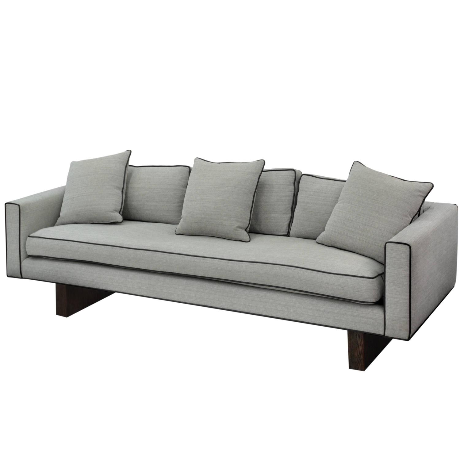 Clean Line Sofa No. 1573 By Harvey Probber For Sale At 1stdibs