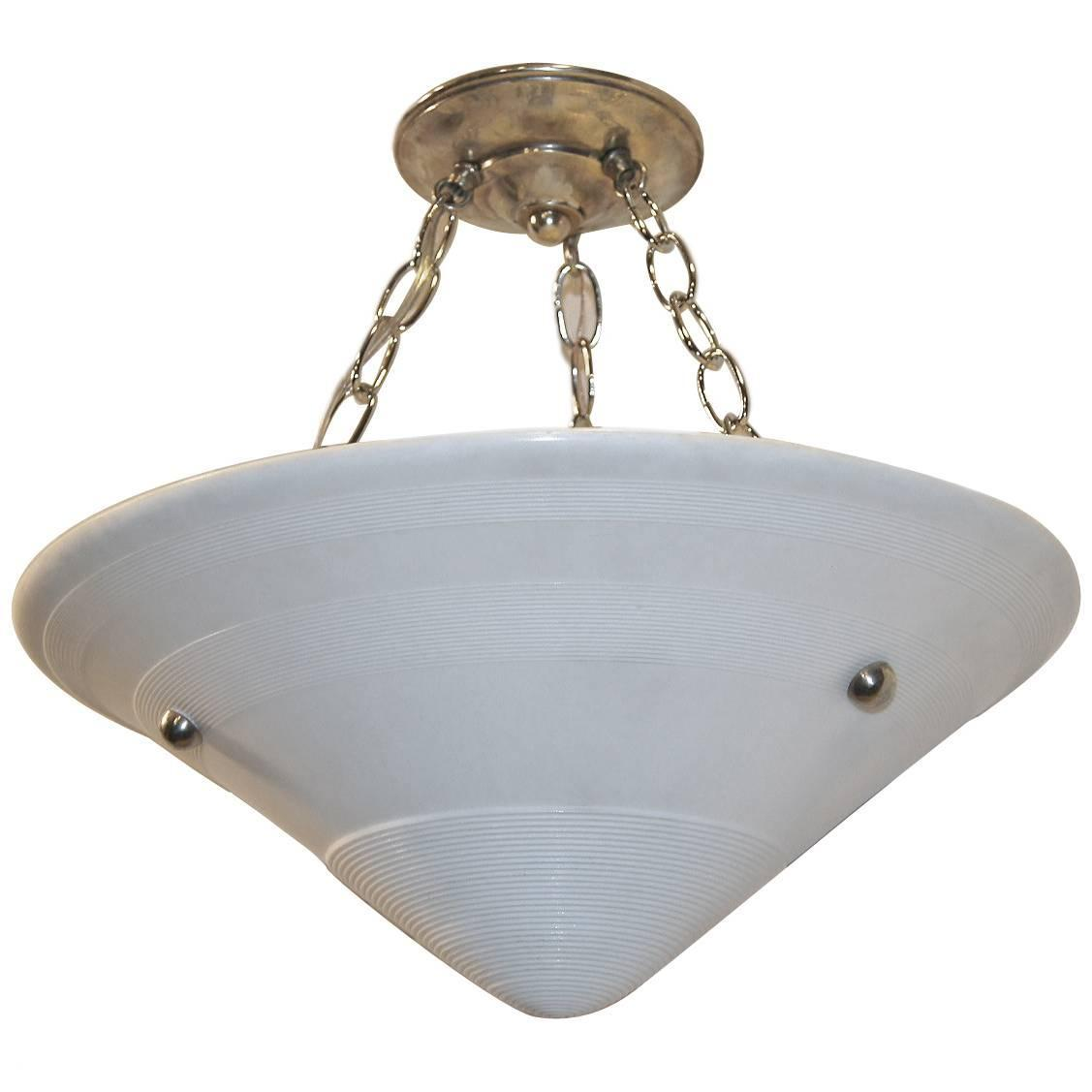 Milk Glass Pendant Light Fixtures For Sale At 1stdibs
