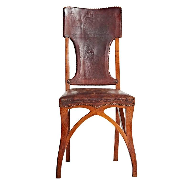 Early 20th Century Eug Ne Gaillard Chair For Maison Art Nouveau Bing For Sale