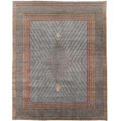 Vintage Pakistani Qum Style Rug