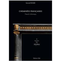 French Chimneys through the Styles, Book by Samuel Roger, 21st Century