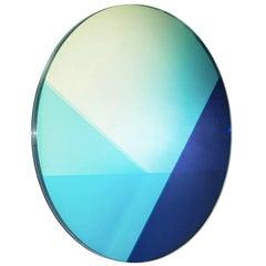 Contemporary Big Round Mirror 100 cm, Seeing Glass Series by Sabine Marcelis