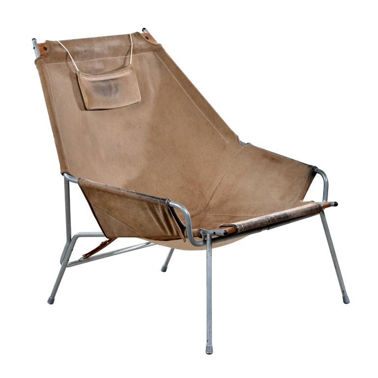 Erik Ole Jørgensen Lounge Chair for Bovirke For Sale