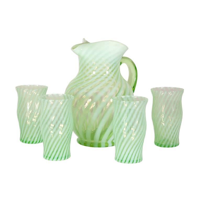 Vintage Fenton Glassware Set