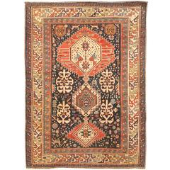 Antique 19th Century Caucasian Shriven Rug