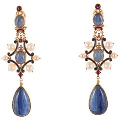 Unique Pendant Earrings by Diego Percossi Papi