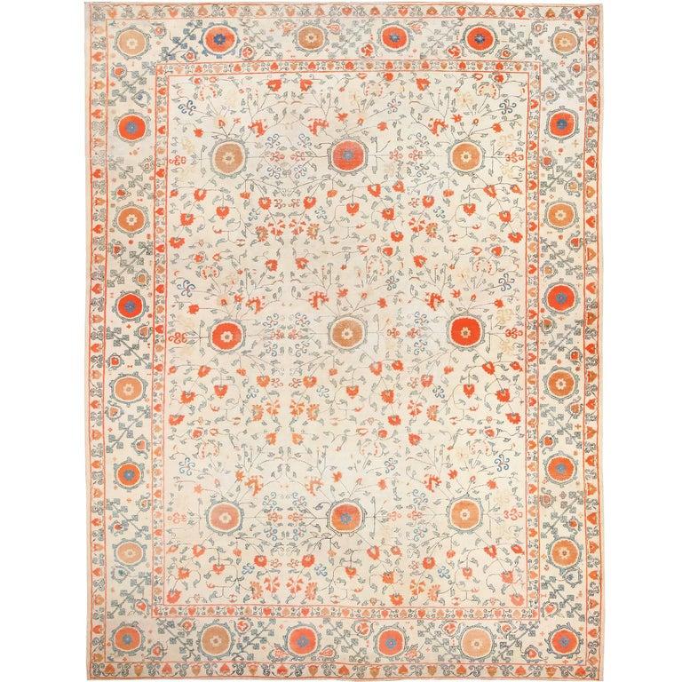 Khotan Carpet, ca. 1920, offered by Nazmiyal