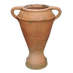 Large Late 19th Century Greco/Roman Style Terracotta Olive Jar, circa 1880