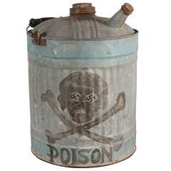 Skull and Crossbones Gas Can