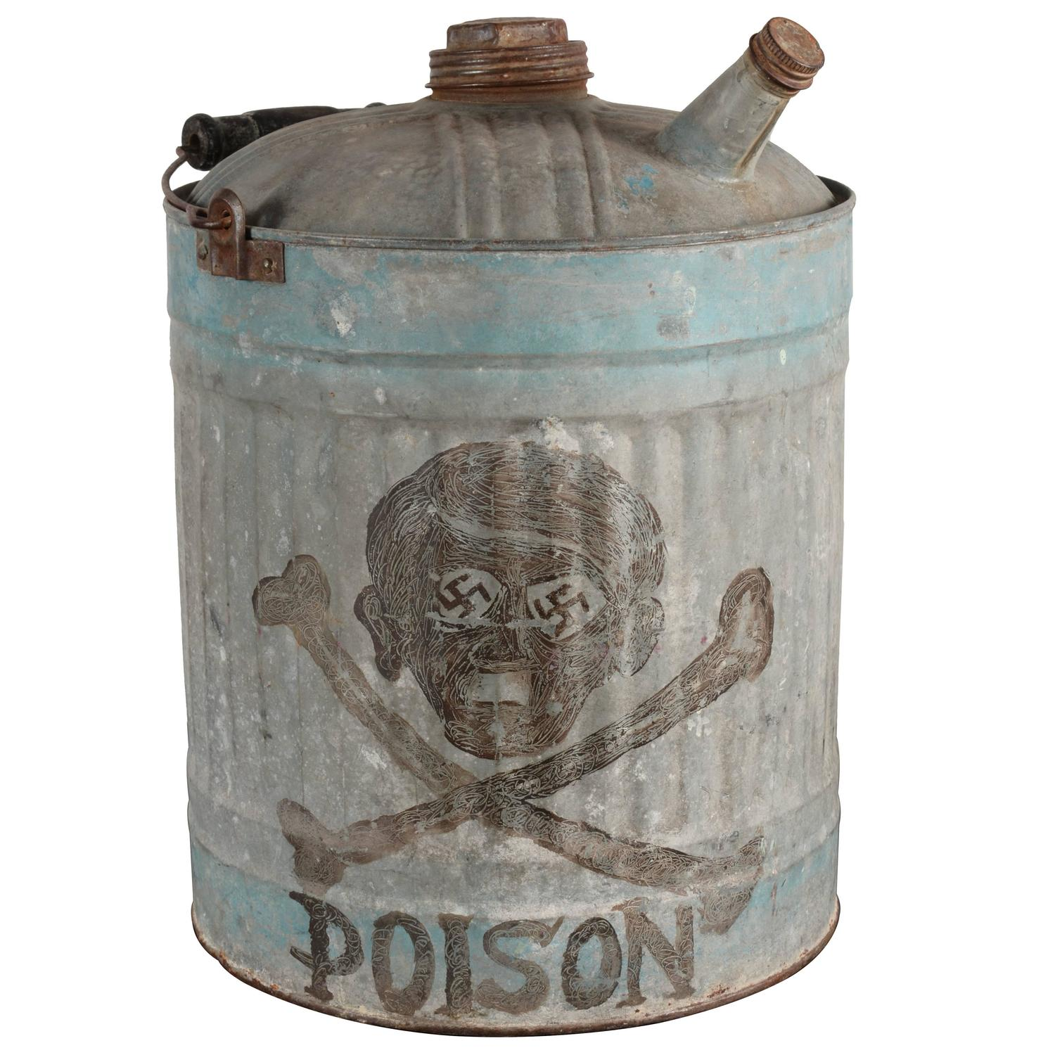 Skull And Crossbones Gas Can For Sale At 1stdibs