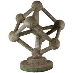 Large Atomic Garden Sculpture